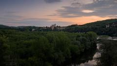 Sunset over the Dordogne river - Revelle Photo (Rev'elle Photo) Tags: sunset summer france beautiful river soleil nikon coucher dordogne rivière best belle été beau d800 meilleur revelle meilleure
