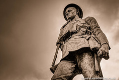 In honour of the fallen (AnnieWilcoxPhotography) Tags: blackandwhite bw cloud white black texture monochrome museum sepia soldier photography blackwhite nikon october memorial country william brewery annie ww2 wilcox dudley springfield ww1 toned technique hdr highdynamicrange butlers hdri bcm wolverhampton sepiatoned 2015 photomatix blackcountrymuseum photographytechnique d7000 anniewilcox wwwanniewilcoxcouk williambutlersspringfieldbrewery