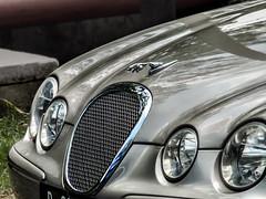 Old Jaguar (hastuwi) Tags: hood carhood kapsedan mobil sedan jaguar miring