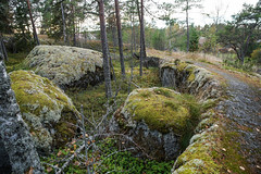 Rock formations (TimoOK) Tags: suomi finland woods hiking path route mets kuni mustasaari vaellus polku reitti