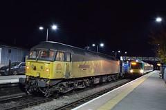 47739 at Ledbury. 20/10/15 (Nick Wilcock) Tags: hereford railways freight worcester ledbury kingsnorton colas 477 class47 class170 londonmidland rhtt worcestershrubhill 170510 colasrail 47739 robinoftemplecombe colasrailfreight 2b86 3s31