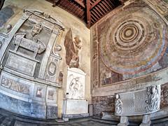 Camposanto Monumentale (Pisa, Toscana, Italy) (DokuDoc) Tags: italien italy friedhof cemetery pisa tuscany hdr toskana samyang75mmfisheye