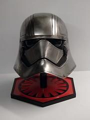 Finished Phasma Helm Front (thorssoli) Tags: starwars costume helmet replica armor stormtrooper prop tfa firstorder episode7 phasma episodevii ep7 chrometrooper forceawakens epvii captainphasma
