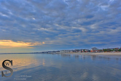 A beautiful evening by the water (Singing With Light) Tags: sunset fall reflections photography cool 1212 downtown december sony ct batman milford walnutbeach mirrorless sonykitlens sony16mm28 bahbahra singingwithlight singingwithlightphotography sonya6000 sony24240 lightjj 22nd12th