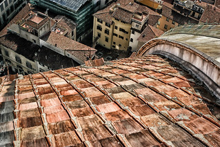 Roof Detail:  Florence Cathedral