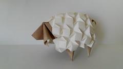 Sheep - Beth Johnson (Monika Hankova) Tags: origami sheep