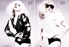 (waluntain) Tags: celebrity strange beautiful lady magazine us crazy famous elle fame odd kinky odds gaga ladygaga