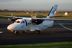 OK-RDA L-410UVP-E City Wing (ChrisChen76) Tags: gloucester czechrepublic staverton l410 l410uvpe citywing