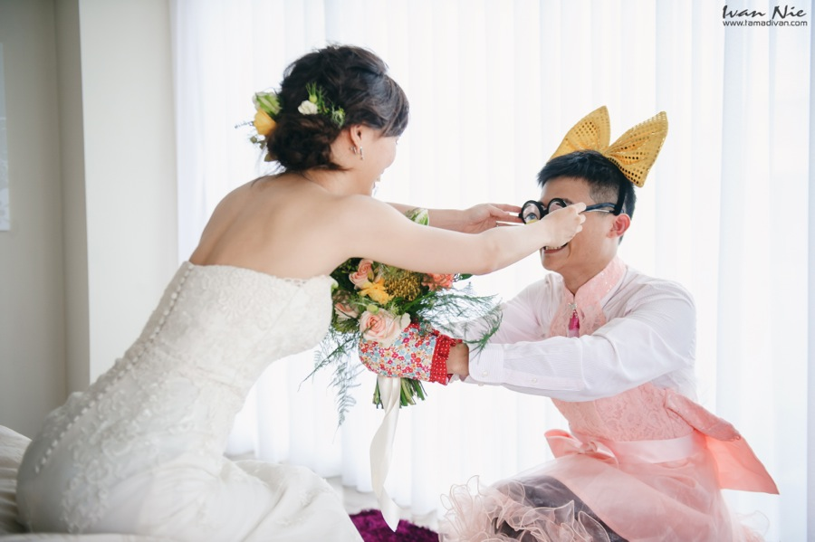 ''婚攝小倩、台中心之芳庭、台中婚攝、婚攝、婚禮紀錄、Ivan