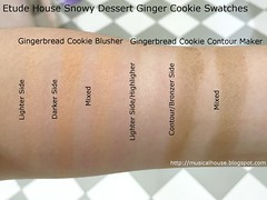 Etude House Ginger Cookie Blusher Contour Swatches (musicalhouses) Tags: beauty swatch makeup highlighters highlighter blush bronzer blusher swatches highlighting etudehouse koreanmakeup koreanbrands kbeauty