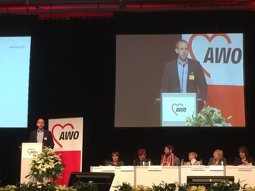 Bei der AWO-Bundeskonferenz bin ich ins Bundespräsidium gewählt worden.