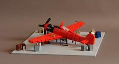 Ta-152H - Main (Sydag) Tags: moc plane fockewulf lego aircraft airplane wwii warbird