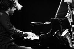 DUO (Florence Bonnin) Tags: bw canon concert jazz lumière moussay mouvement sclavis scène