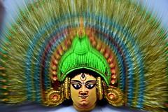 Mask (Sanjiban2011) Tags: mask handicrafts decoration culture goddess headgear objects artisticobjects nikon d750 fullframe tamron tamron2470