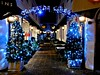 Greeneda Court - Merry Christmas 2016! (Comiccreator24) Tags: florida centralflorida unitedstates america unitedstatesofamerica technology winter december 2016 blue development parkavenue winterpark winterparkflorida photography creativephotography creative resturant eatery friday fridaynight night greenedacourt lights fridaynightlights bluelights pretty