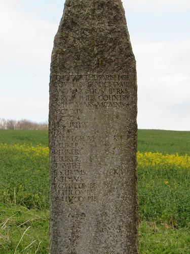 Compton Beauchamp: War Memorial (Oxfordshire)