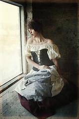 The Cellar 10 (Mark_Dangerous) Tags: woman model vintage poisonapple cellar dark fairytale magical medieval corset dress evil photoseries colorgrading photostory spell femmefatale portrait