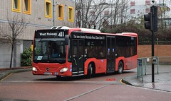 MCS10 Quality Line (KLTP17) Tags: mcs10 epsombuses qualityline mercedes citaro short led kingston 411 special oneoff demonstrator bu13zve