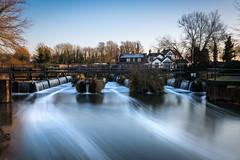 Dobbs weir (ONE DIGITAL EYE) Tags: dobbs weir road hoddesdon en11 0as water riverlea river trees pub bridge leavalley longexposure le sky