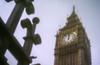 Westminster (Pinhole 5) (OzzRod) Tags: pentax k1 pinhole homemadepinhole clock tower bigben westminster london noon