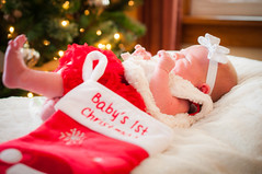Baby's First Christmas I (R P M Photography) Tags: r p m photography rpm newborn new born baby babies taylor elizabeth weiser april photos photoshoot