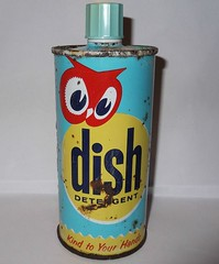 Red Owl Dish Detergent (STUDIOZ7) Tags: redowl grocery store supermarket 1950s fifties 50s minnesota mn can dish detergent