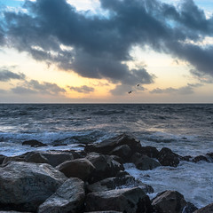 Playa Del Rey (surfdog69) Tags: landscape seascape sunset sand ocean pacific waves beach california water outdoor sea jetty rocks orange sky seashore