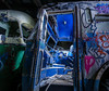 Get Outta Ma Face B***h (Luminophor) Tags: night nightphotography longexposure lightpainting abandoned bus tram graffiti rustyandcrusty decay decayed urbex urbanexploration railway historic sydney