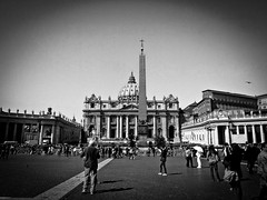 St. Peter's Basilica (Halibel14) Tags: rome italy stpeterbasilica church city lightroom olympus epl1