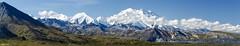 25 Minutes At Eielson - Final_20A6743_6786-Pano (Alfred J. Lockwood Photography) Tags: alfredjlockwood nature landscape alaskarange denali denalinationalpark summer morning eielsonvisitorcenter panorama tundra mountain alaska clouds