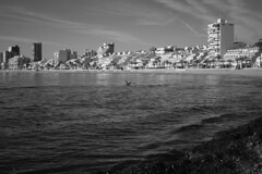 nostalgia (pepe amestoy) Tags: blackandwhite landscape urban streetphotography elcampello spain fujifilm xe1 voigtländer color skopar 2535 vm leica m mount