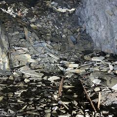 tracks | llechwedd slate caverns (John FotoHouse) Tags: llechwedd slate wales cymru underground dolan flickr fujifilmx100s fuji johnfotohouse johndolan leedsflickrgroup copyrightjdolan color colour mining square squareformat