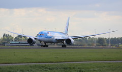 TUI Airlines Netherlands Boeing 787-8 Dreamliner (AMSfreak17) Tags: amsfreak17 danny de soet canon 70d ams eham amsterdam luchthaven schiphol airport vliegtuigen vliegtuig aircraft airplane jet jetphotos planespotting luchtvaart vertrek aankomst departure arrival spotter planes world of airplanes nederland the netherlands holland europe dutch take off runway 36l 18r polderbaan tui airlines boeing 7878 dreamliner phtfk