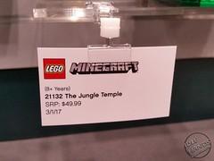 Toy Fair 2017 LEGO Minecraft 16 (IdleHandsBlog) Tags: minecraft toys videogames lego constructionsets toyfair2017