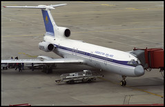UN-85396 - Hannover Langenhagen (HAJ) 19.09.1995 (Jakob_DK) Tags: 1995 haj eddv hannover hannoverlangenhagen tupolev tupolev154 tupolev154b tupolev154b2 tu154 tu154b tu154b2 careless kza airkazakstan airkazakhstan kazakstanairlines kazakhstanairlines