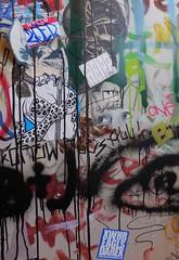 Zoer (Visual Chaos) Tags: zoer zoerscicrew zoersci sci scicrew sticker slaptag artdepartment lockerroom cerritoscollege farbazaar acire xwhr eagls darex gremlin eyes wheatpaste