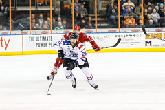 "Missouri Mavericks vs. Allen Americans, March 3, 2017, Silverstein Eye Centers Arena, Independence, Missouri.  Photo: John Howe / Howe Creative Photography • <a style=""font-size:0.8em;"" href=""http://www.flickr.com/photos/134016632@N02/33117919372/"" target=""_blank"">View on Flickr</a>"