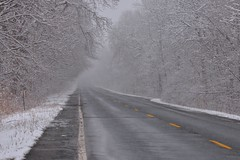 Route 52 (grumpyff) Tags: route52 road blacktop winter cold empty ny newyork dutchesscounty snow outdoors stormville