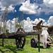 Charrette à tête de mort (Rancho Gaviota, Cuba)