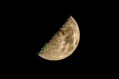 Moon. Lanzarote. 600mm (maydafe) Tags: sky moon lanzarote luna cielo hdr costateguise 600mm sigma150600