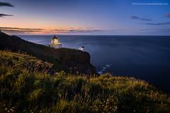 Early evening at St. Abbs (Damon Finlay) Tags: nightphotography sea sky lighthouse night stars scotland fuji north scottish northsea nightsky fujinon f4 borders stabbs scottishborders xe1 stabbslighthouse fujixe1 xf1024mm fujinonxf1024mmf4