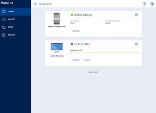 Acronis True Image Cloud & True Image 2016