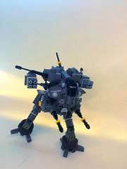 Orbez F2 - Low Gravity Mech (stride) (SuperHardcoreDave) Tags: lego low flight gravity walker fantasy weapon future scifi mecha mech moc biped
