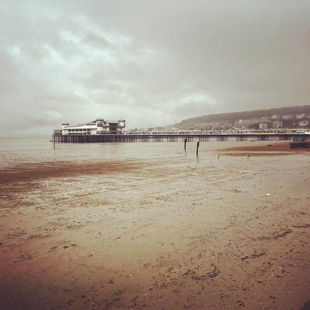 Grand Pier, Weston-super-Mare #westonsupermare #beach #praia #pier