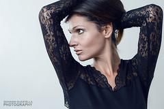 Cristina portrait (Giovanni Guastella Photography) Tags: portrait woman white girl beauty 50mm nikon f18 backgroud d3200