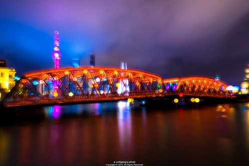 Dream of Shanghai, The Garden Bridge, Shanghai (Waibaidu Bridge)