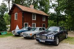 Old Luxury Sedans (afeman) Tags: cars mercedes se sweden sony transport rollsroyce vehicles uppsala sverige bentley ulvakvarn uppsalalän a6000 sigma19mm28exdn