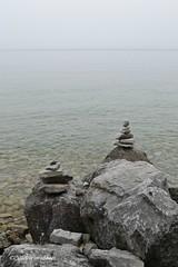 Rock Stack (ilovecoffeeyesido) Tags: zen mackinacisland cairn lakehuron rockpiles rockstacks mackinacislandmi