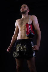 Fighter (charenty) Tags: portrait mixed fighter martial arts gloves boxing mma