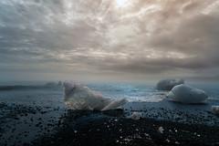 Ice Graveyard - Iceland, Jokulsarlon (Nomadic Vision Photography) Tags: travel summer lake ice iceland nationalpark europe scenic lagoon jokulsarlon jonreid tinareid nomadicvisioncom